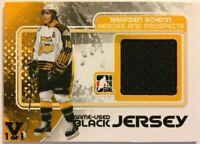 2010-11 ITG Heroes & Prospects Game-Used Jersey Black Brayden Schenn Vault 1/1
