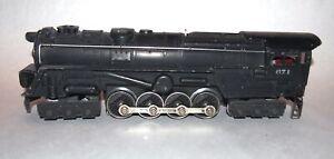 Lionel Postwar 671 Steam Turbine Locomotive! Rare Red Brush Plate! PA