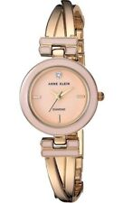 Anne Klein Watch * 2622LPGB Lt Pink Diamond Dial Gold Twist Bracelet COD PayPal