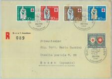 89941 - SWITZERLAND  - Postal History - FDC COVER 1957  Medicine RED CROSS