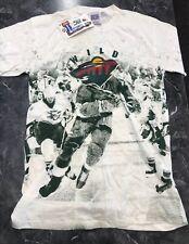 New listing Vintage T Shirt - The Minnesota Wild Sports Nhl Nos Size M White