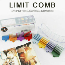 8Colors Wahl Hair Clipper Limit Combs Guide Attachment Clipper Positioning CombP