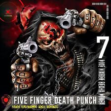 FIVE FINGER DEATH PUNCH - AND JUSTICE FOR NONE  2 VINYL LP NEW!