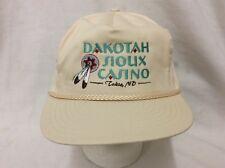 trucker hat baseball cap Dakotah Sioux Casino Tokio ND retro vintage rare rave