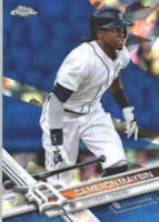 CAMERON MAYBIN 2017 TOPPS CHROME SAPPHIRE EDITION #102 ONLY 250 MADE