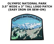 "Washington ""Olympic National Park"" Patch US Travel Souvenir Iron-On Applique"
