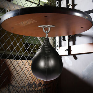 MMA Punching Boxing Sparring Speed Ball Fitness Training Kit w/ Hanging Swivel
