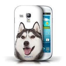 STUFF4 Case/Cover for Samsung Galaxy S3 Mini/Dog Breeds/Husky