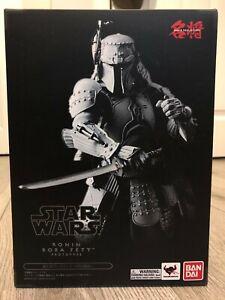Star Wars Mei Sho Movie Realization Samurai Ronin Boba Fett prototype