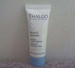 Thalgo Purete Marine Absolute Purifying Mask, 15ml, Brand New!