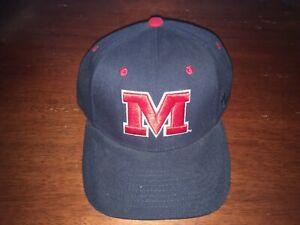 Ole Miss Rebels Stretch Fit Hat (Baseball Cap) Small