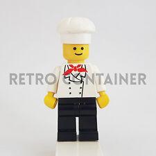 LEGO Minifigures - 1x chef002 - Chef - Omino Minifig Set 1066 6683 6390 10041