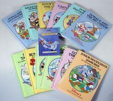 DISNEYS SMALL WORLD LIBRARY BOOKS SET OF 12 PLUS BONUS BOOK THE RESCUERS
