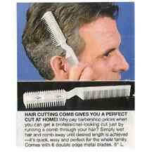 Hair Razor Comb Hairdressing Thinning Trimmer Punk Home Professional Scissor NEW
