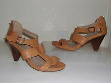 Kenneth Cole Reaction Tan Heels Size 7 Shoes Sandals