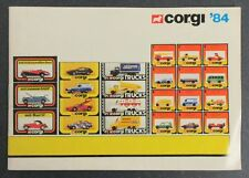 Corgi '84 Booklet - 1984