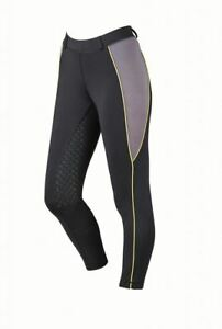 Dublin Perfomance Ladies Flex Zone Show Pony Horse Riding New Equestrian Tights