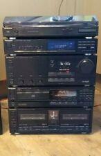 Technics Hi-Fi Stack Stereo System (CD, Cassette, Tuner, Amp, Turntable)