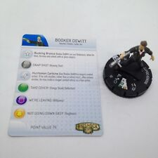 Heroclix Bioshock Infinite set Booker Dewitt #101 Starter set figure w/card!