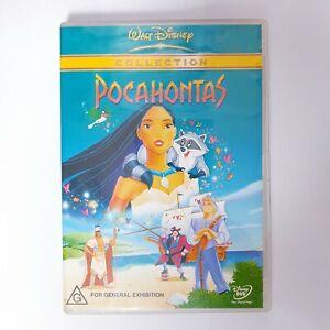 Pocahontas Movie DVD Region 4 AUS Free Postage - Kids Children