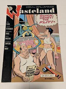Wasteland #14 Winter 1988 DC Comics