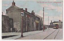 Illingworth, Old Stocks & Prison, Yorkshire Tram Postcard B617