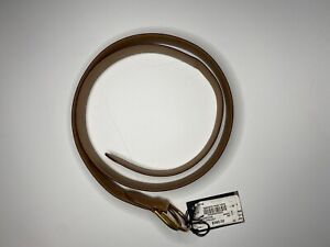 NWT Men's Dunhill Brown Leather Belt Size 40