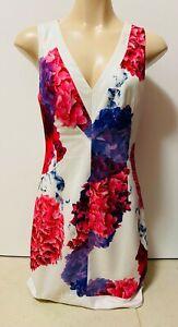 PRE-LOVED SEDUCE SIZE 8 FLORAL DRESS