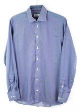 Eton Hombre Camisa Contemporáneo Fit Formal Talla 40 15 3/4 DZ279