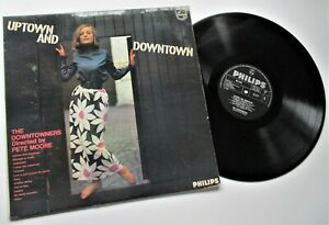 THE DOWNTOWNERS   UPTOWN AND DOWNTOWN  1966 PHILIPS  RECORDS ALBUM