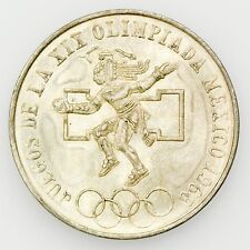 Mexico KM#479.1 1968 25 Pesos XIX Olympics, Large Uncirculated Coin [2728.35]