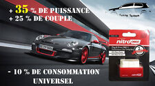 BOITIER ADDITIONNEL CHIP PUCE OBD2 TUNING VOLKSWAGEN GOLF 5 2.0 TDI FAP 140 CV