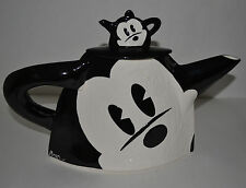 ARTISTIC MICKEY MOUSE TEAPOT CREATED FOR DISNEY BY BAER