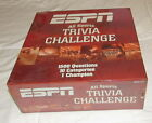 ESPN All Sports Trivia Challenge 1500 Questions NIB 10 Categories Game