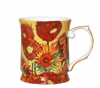 Van Gogh Sunflowers 415cc Mug Fine Bone China Coffee Tea Cup Mug Xmas Gift
