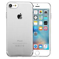Apple iPhone 7 / 8 Hülle Schutz Tasche Case Cover Silikon Transparent Klar Dünn