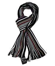 Maku, Luxurious Soft Touch Feel Stripe Scarf Multi Striped Scarves (STY.006)