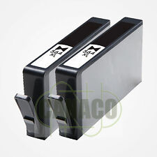 2 New Photo BK 564 564XL Ink Cartridge for HP -B209a C5324 D5440 B109a 5520 7520