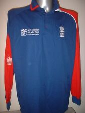 England Cricket Shirt Jersey Adult XL L/S Player Issue BNWOT World Cup Admiral
