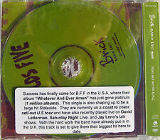 BEN FOLDS FIVE CD Brick UK 1 Track PROMO (4:09 Edit) + PROMO Info Sticker + Skr