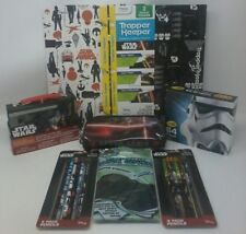 Star Wars The Force Awakens Back To School 8 Piece Bundle Set