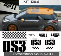 Citroën DS3 Kit complet body  - autocollants Stickers adhésifs graphic vinyl
