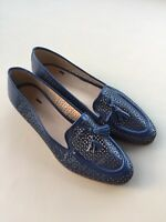 b17be101b5538 NEW J. CREW BIELLA TASSEL LEATHER LOAFERS HAVEN BLUE SIZE 7 Rtl  285 A1239