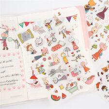 6 Blätter/lot Schöne Miss Cat DIY scrapbooking Tagebuch fotoalbum aufkleber