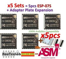 5pcs ESP-07S (ESP-07 Updated) ESP8266 serial WiFi model Authenticity Guaranteed