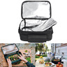 12V Car Portable Electric Oven Lunch Box Picnic Camping Mini Hot Food Heater Bag
