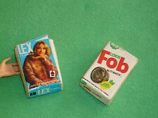 Barbie vintage taglia accessori ~ per giocare o diorama ~ SAPONE IN POLVERE scatole ~ NO BAMBOLA