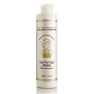 Baby Top To Toe Wash - The Golden Toddler