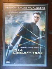 DVD EN LA LINEA DE TIRO (LOU DIAMOND PHILLIPS) - EDICION DE ALQUILER (5Z)