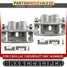 2x Disc Brake Caliper for Chevrolet Silverado1500 Cadillac Cadillac w/ Bracket